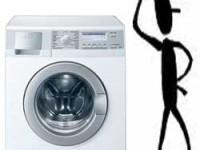 Verhuizen van een wasmachine