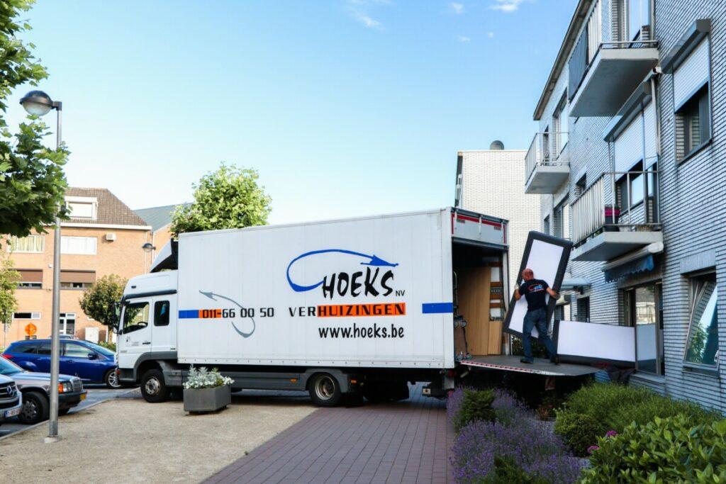 hoeks verhuizingen professionele en particuliere verhuis