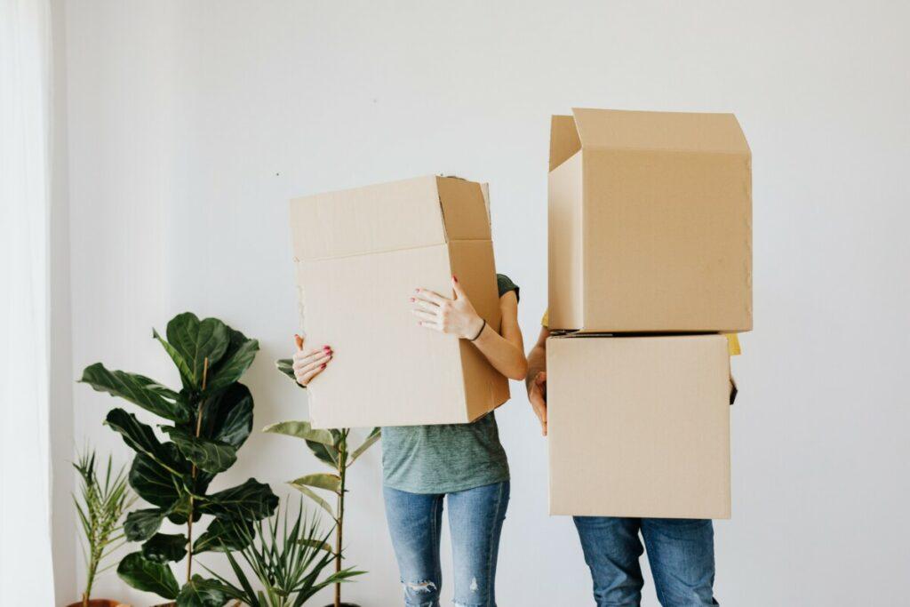 slecht inpakken verhuis